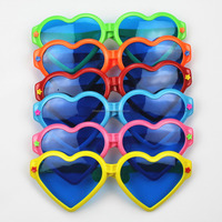Fun Big Glasses Party Plastic Glasses Funny Mask 6 Colours Party Props Fashion party