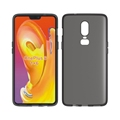 Matte design tpu soft cell phone cover For oneplus 6 gel case
