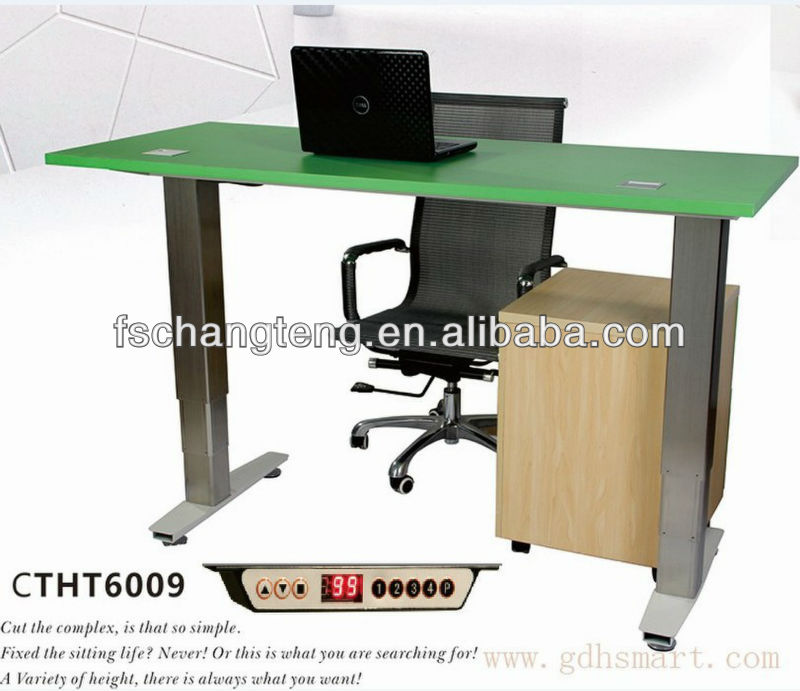 Newcastle upon Tyne&Norwich & Nottingham Electric height adjustable desks (Sit Stand desks)from changteng furnishing