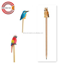 cute animals design nature fancy wooden pencil