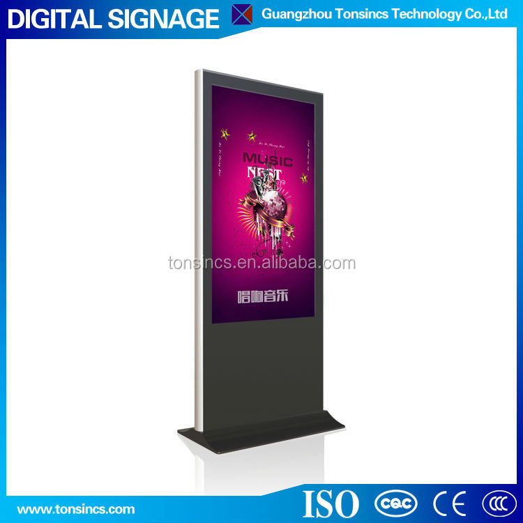 China 47 inch Floor Stand LED Adevertising Digital Signage Kiosk / Advertising machine