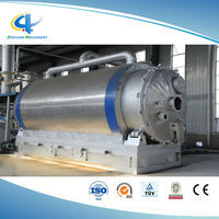 tyre pyrolysis equipment / waste tire recycling to fuel oil pyrolysis plant