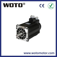 three phase electric AC servo motor 220V 2KW