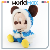 Latest Design And Adorable Soft Mickey In Cape Custom Baby Plush Toy