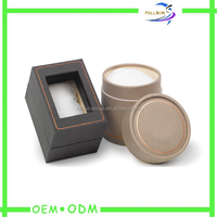custom ring box jewellery packaging box cardboard jewelry gift box with window