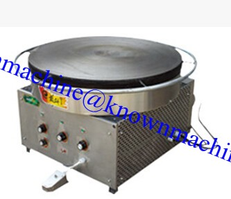 Electric and gas mini automatic pancake maker machine