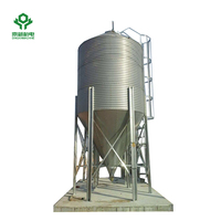 grain silos for wheat flour mills 1000T steel structure silos