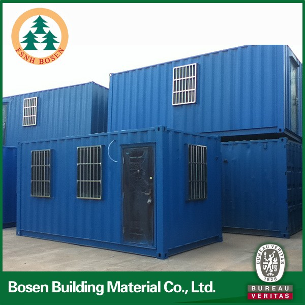 New concept of prefabricated container house made in china