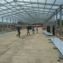 low price steel structure building prefab chicken house for poultry farm