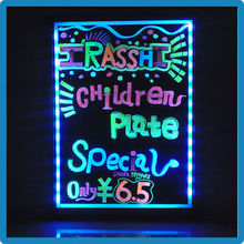 High quality erasable illuminated writing led sign board supplied by Chinese golden manufacturer