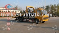 Dongfeng road wreck truck, towing truck