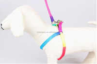 Wholesale colorful cheap adjustable pet belt pulling rope