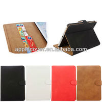 New Arrive Pattern PU Leather Wallet case for Mini ipad with Card Slot