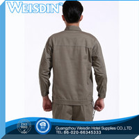 ladiess insect shield color-blocked twill work shirt with hi-vis