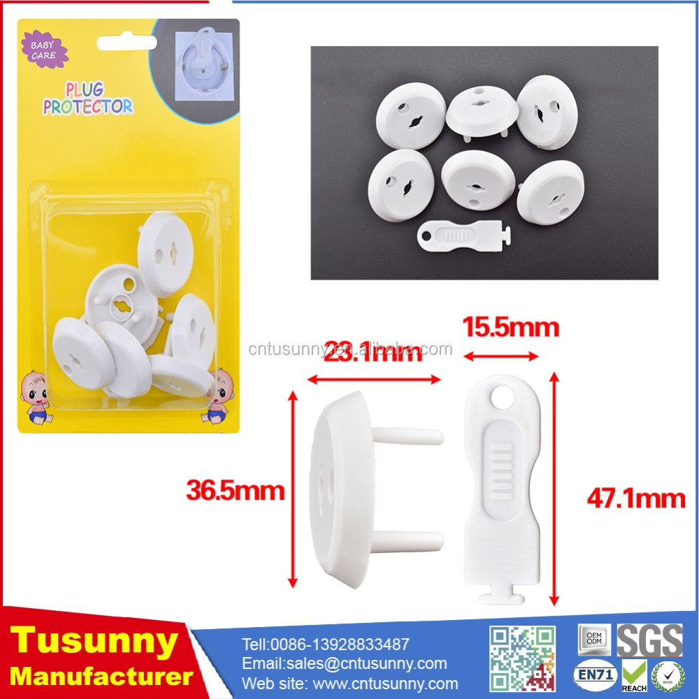 Amazon hot sale item professional FRENCH standard child safety electric plug plastic outlet covers
