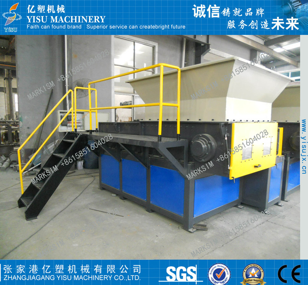 industry plastic shredder/shredding machine
