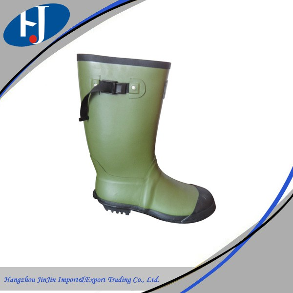 high quality fashion design hot selling rubber dust boots