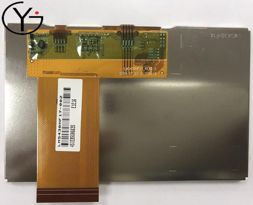 NEW and Original 4.3 inch LMS430HF17-<strong>002</strong> LCD Panel in stocks