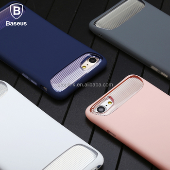 Baseus Angel Case Protective Shell TPU PC Hard Phone Cover For iPhone 7 PC+TPU Double Anti-Fall Protective Case 4.7 inch Phone
