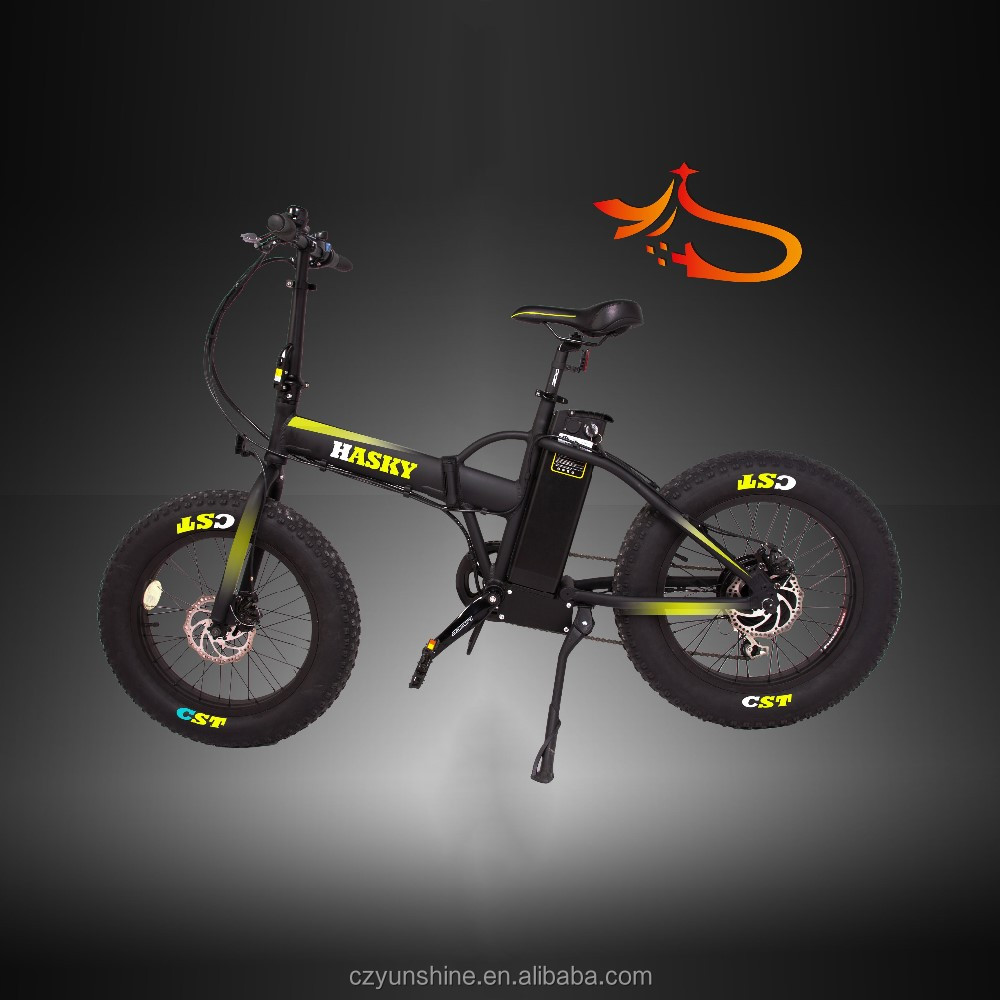 EEC folding israel electric bike on road