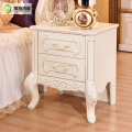 Factory Direct Sale 2 Drawer Wooden Night Table