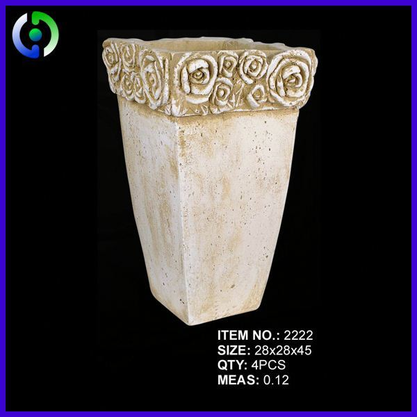 New Arrival Top Quality cemetery flower pot from manufacturer