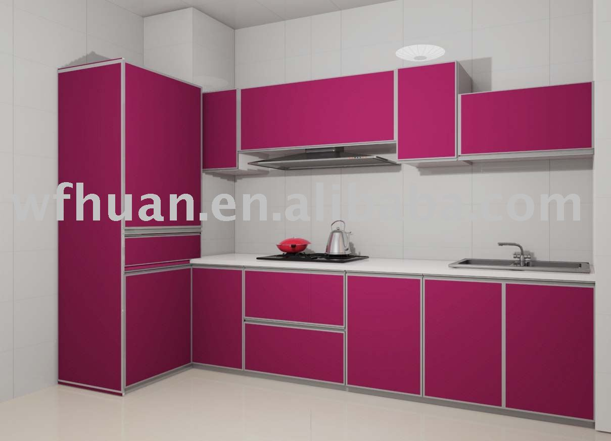 Pvc Kitchen Cabinets : Pvc kitchen cabinet stainless steel cabinets