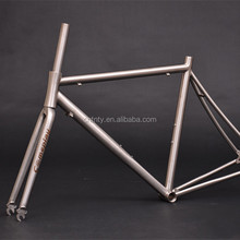 Professional Customized Titanium Road bike Racing Frame