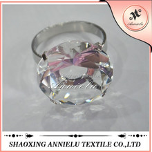 Wholesale wedding crystal diamond napkin rings