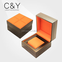 New design branded single watch display plastic watch box