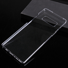 Miroos clean transparent hard cell phone blank case for samsung galaxy note 8 case slim pc mobile cover