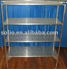 Stainless Steel Shelf/stainless steel bathroom corner shelf/stainless steel kitchen wall shelf