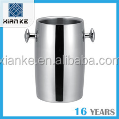 2000ml Double Wall metal ice bucket