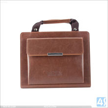Tablet case cover Handbag leather case for ipad 4 5 6, for ipad case handle,for ipad 4 5 6 case leather