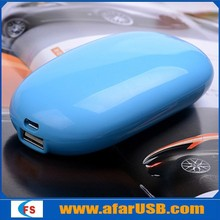 Universal egg safe battery 5200mah portable mobile power bank