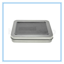 Custom Made Rectangular Blank Tin Box As Business Gift