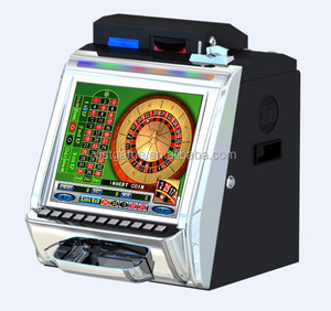 Top sell 17'' Table Roulette video game machine, plutus roulette game machine
