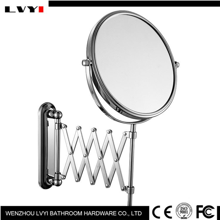 Factory direct sale unique design decorative cosmetic wall mounted mirror with good prices