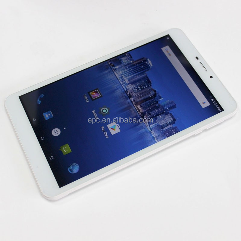 Shen zhen Good quality 8 Inch Tablet PC Android 5.1 MTK8735 Quad Core 1.3GHZ With Wifi Support Bluetooth 4G phone