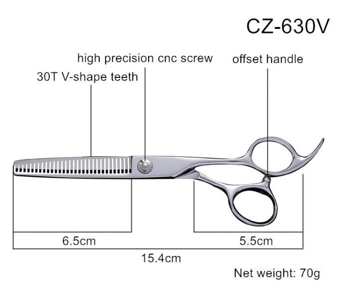 Hair Thinning Scissors, Hair Cutting Scissor, Hair Grooming Scissor