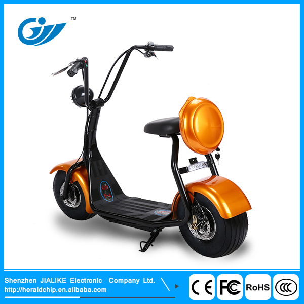 Harley02 motor 500W two wheel motorcycle lithium battery electric mobility scooter