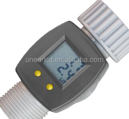 custom electronic water meter lcd UNLCD60985