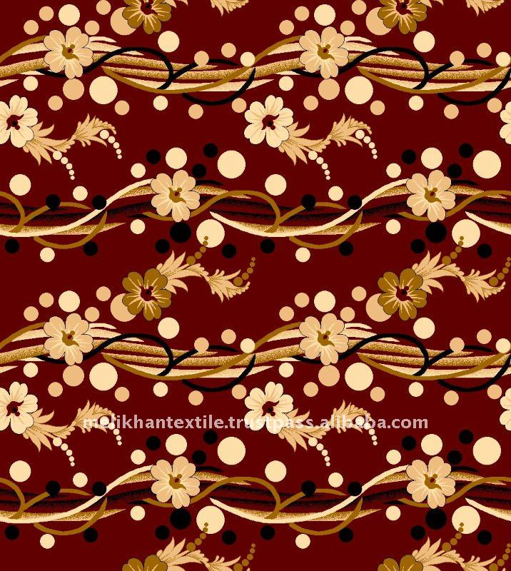 POPULAR DESIGN FLORAL WALL TO WALL CARPET