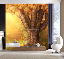 Wholesale Adhesive Wall Paper Fancy Tree Wall Sticker With Custom Size