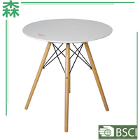Yasen Houseware Creative Dinning Table,New Design Fashion Mdf Top Teak Wood Dinning Tables