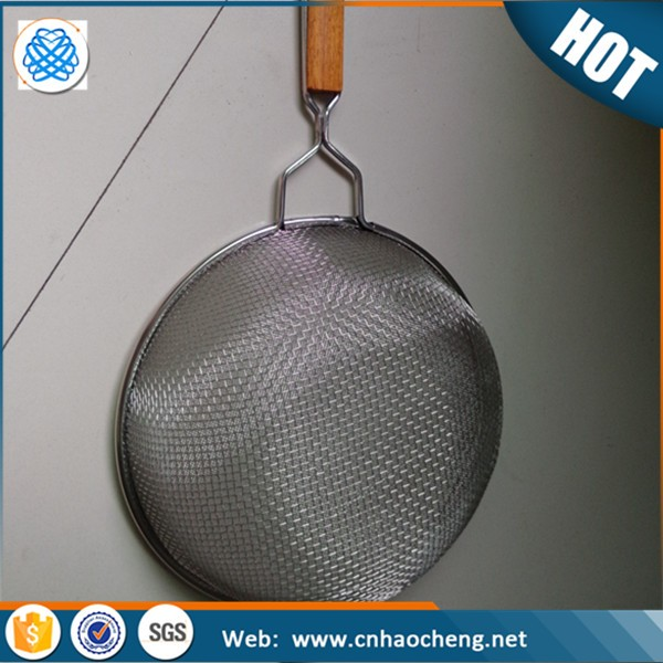 50 mesh Kitchen supply Stainless steel strainer with handle