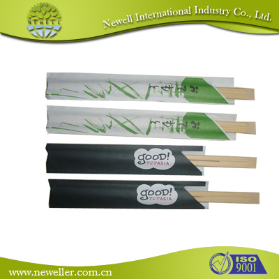 2014 Natural black plastic chopsticks For Japan Market