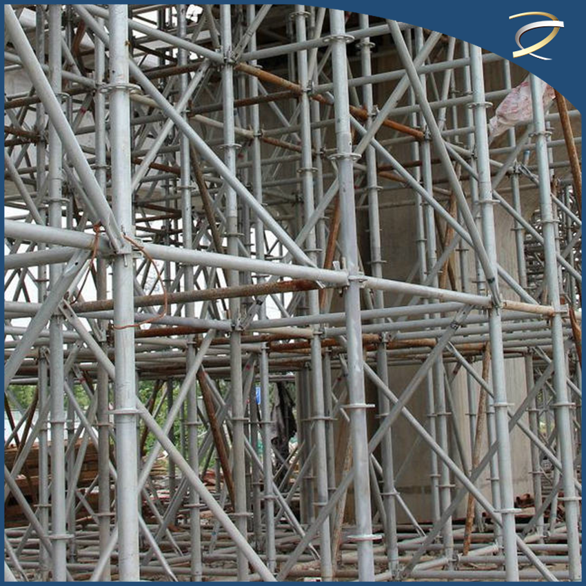 Q235 ring lock clamp Scaffolding Construction rolling scaffolding for sale