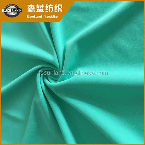 Hot sale 100% polyester antibacterial deodorant knitting 50D jersery fabric for underwear