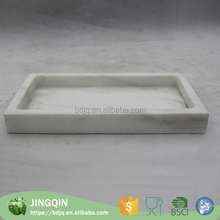China wholesale round cake tray with lid marble fruit dish